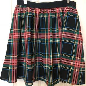 Plaid JCrew Skirt